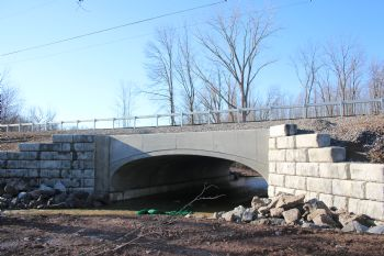 Arch Culvert: Youngstown, NY: Wilson Road Bridge - Kistner