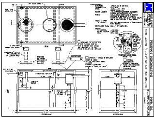 1000 Gallon Quot K Sep Quot Grease Interceptor Kistner Concrete Inc