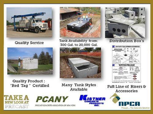 Septic Tank Slide Show - Kistner Concrete Inc