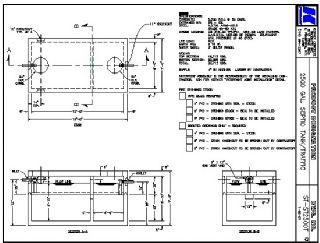 2500 Gallon Septic Tank Traffic Kistner Concrete Inc